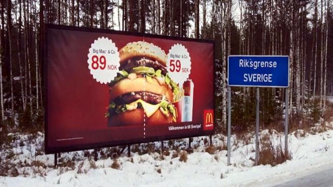 İsveç'e gelmişken karnızı iyicene bir doyurun fakirler !