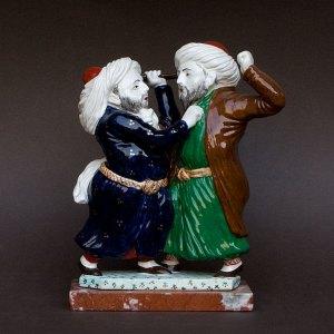 Heykel : Kavga edenler (Squabblers) - Seramik ve mermer - Katerina Smoldyreva