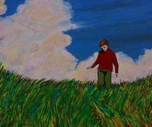 Kendimle Baş Başa (Alone with myself) - Romulo Guardia, Venezuela (akrilik kanvas)