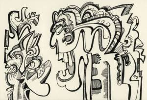 Politika - Maya Hiort Petersen,Norveç - K.kalem, mürekkep